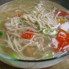 金针番茄素汤
