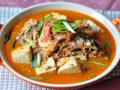 辣三文鱼头豆腐汤
