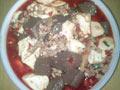 肉末猪血豆腐