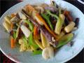 玉米笋炒猪心