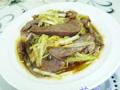 韭菜芽炒猪心