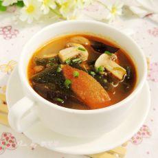 西红柿木耳海带汤