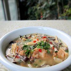 腐竹香菇炖鱼