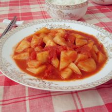土豆烩番茄