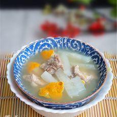 猪尾骨白萝卜陈皮汤
