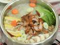 风味烤鸭火锅