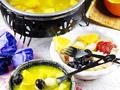 温馨下午茶水果火锅