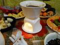 牛奶巧克力水果西点火锅
