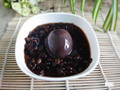 黑豆蛋酒汤