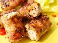 培根香料鲑鱼卷