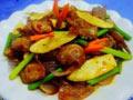私房节日宴客菜茭白回锅肉