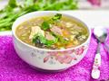 猪肝粉条汤