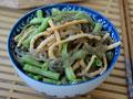 麻花豆角炖粉条