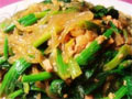 菠菜肉末炖粉条