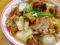 大白菜粉条炖鸭