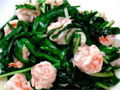 春季养生菜韭菜炒青虾