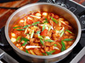 杂菜酸辣汤