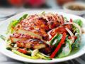 泰式鸡肉菠菜沙拉