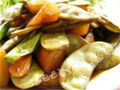 扁豆烧山芋