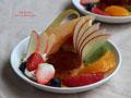法式水果布丁