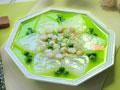 年饭桌好彩头汤菜春意盎然的萝卜鲜贝汤