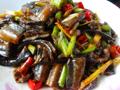 双椒炒鳝鱼段