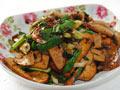 豆腐干炒回锅肉