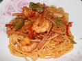 意大利红虾面