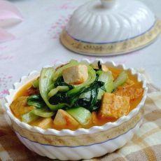 三文鱼骨豆腐汤