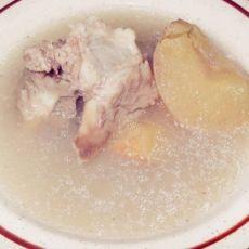 南北杏川贝苹果汤