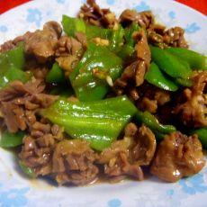 鸡胗炒辣椒