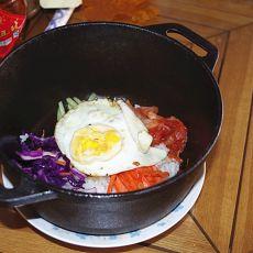 简易石锅拌饭