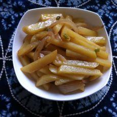 土豆炒葱头