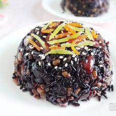 紫米八宝饭