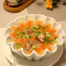 排骨萝卜粥