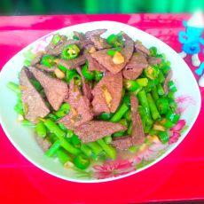 青椒炒猪肝