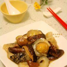 香菇栗子焖海参