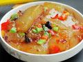 牛肉豆豉炒凉粉