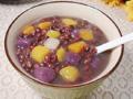 风靡大街小巷的台湾小吃红豆芋圆