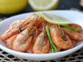 蒜香柠檬虾