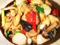 升级版台式口味江西传统菜什菌三杯鸡