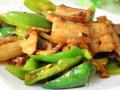 超级下饭的辣椒炒肉