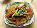 野韭菜苔回锅肉