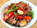豉香茶树菇炒回锅肉