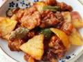 粤菜经典开胃菜菠萝咕�K肉