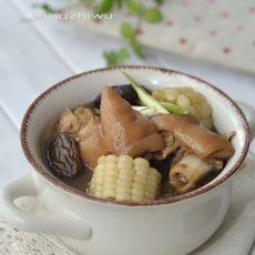 猪蹄玉米煲