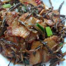 干豆角回锅肉