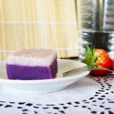 紫薯山药糕