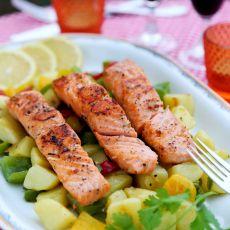 三文鱼晚餐