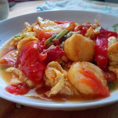 西红柿鸡蛋烧日本豆腐